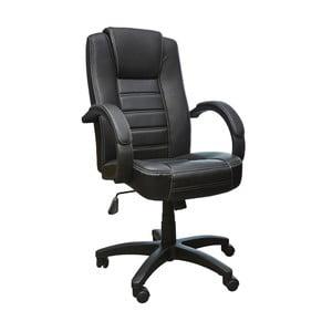 Czarny fotel biurowy 13Casa Lawyer Nero
