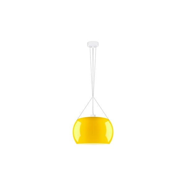 Lampa MOMO Elementary żółta błyszcząca/biała/biała
