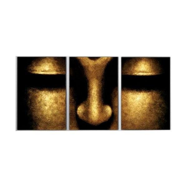 Trzyczęściowy obraz Egypt, 45x90 cm