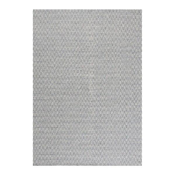 Wełniany dywan Charles Blue, 140x200 cm