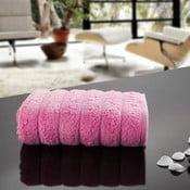Ręcznik Dalga Pink, 50x90 cm