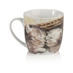 Kubek porcelanowy Sabichi Kitten, 350 ml