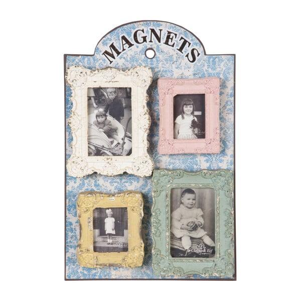 Magnetyczna tablica z ramkami na zdjęcia Clayre