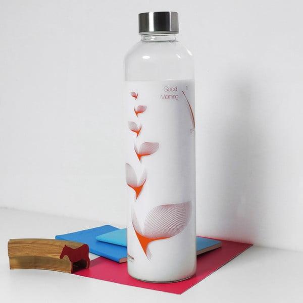 Butelka Drinkitnow Flipper 1 l, pomarańczowa