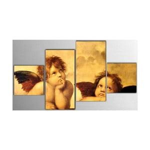 Czteroczęściowy obraz Angels, 50x100 cm