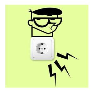 Naklejka Electric Lab for Plug