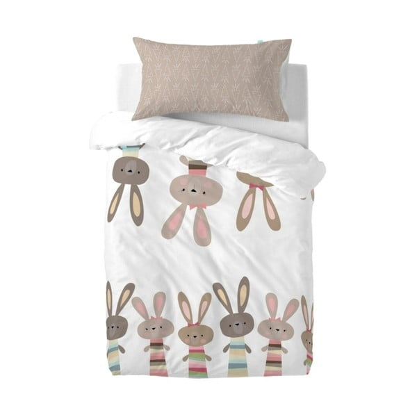 Pościel Little W Maxicrib Little Rabbits, 115x145 cm