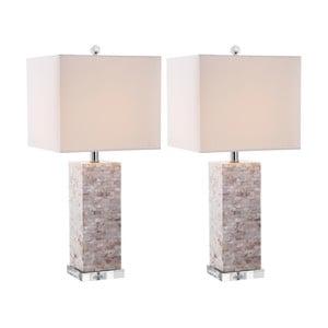 Zestaw 2 lamp stołowych Safavieh Barrow