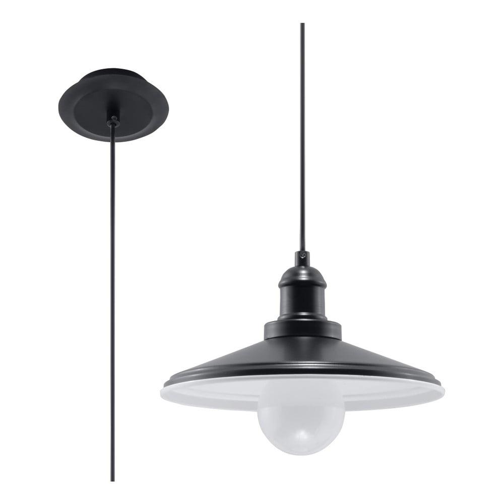 Czarna lampa wisząca Nice Lamps Isola Una