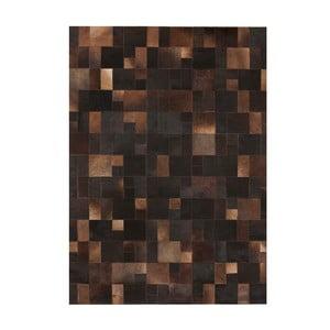 Dywan skórzany Brilliant Brown, 140x200 cm