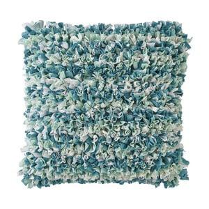 Poduszka Carmen 45x45 cm, niebieska