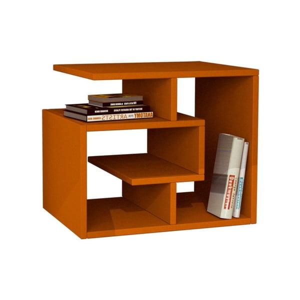 Półka stojąca Labirent, pomarańczowa