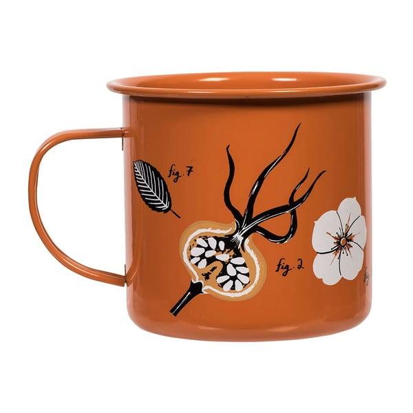 Emaliowany kubek Flora Rosehip, 530 ml
