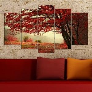 5-częściowy obraz Jesień