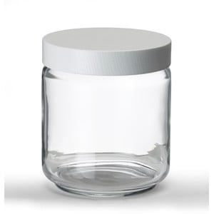 Szklany pojemnik Line Collection, 19 cm