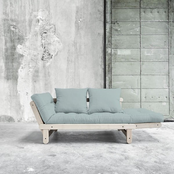 Sofa rozkładana Beat Beech/Sky Blue