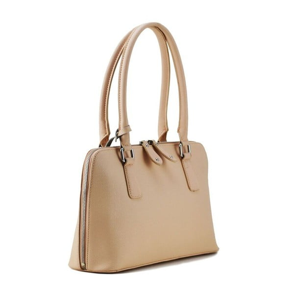 Skórzana torebka Perlisa Pink