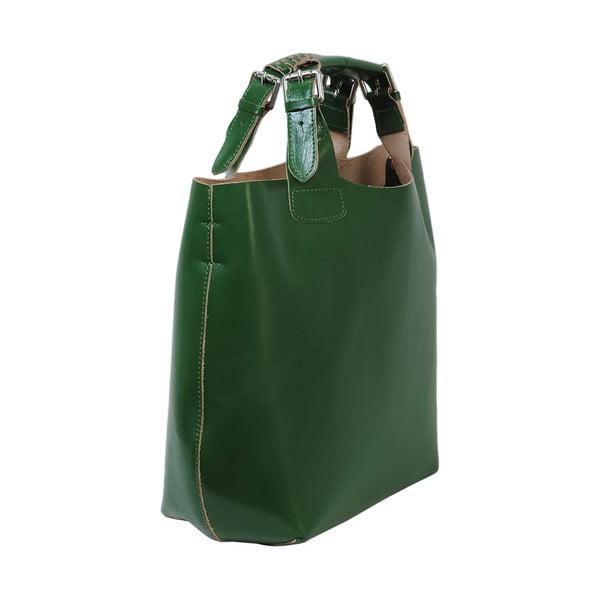 Zielona torebka skórzana Andrea Cardone Edoardo