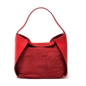 Skórzana torebka Sofia Cardoni 8009 Rosso