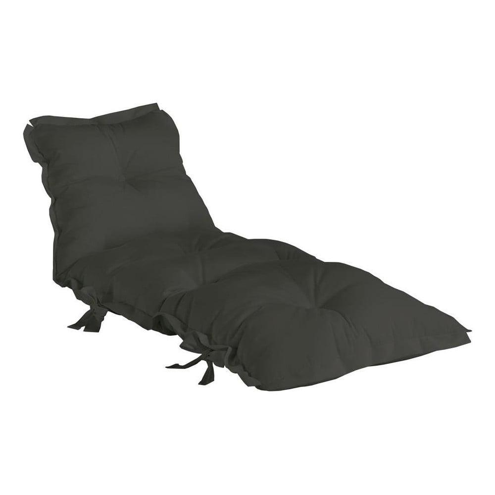 Ciemnoszary wielofunkcyjny futon odpowiedni na zewnątrz Karup Design OUT™ Sit&Sleep Dark Grey