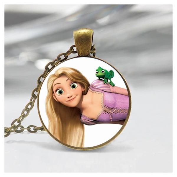 Wisiorek dziewczęcy Rapunzel