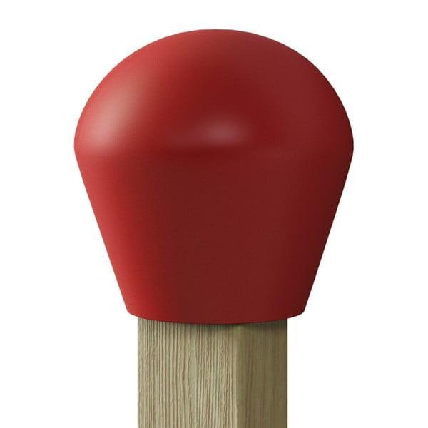Wieszak z półeczką Match, czerwony