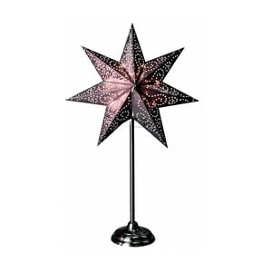 Gwiazda świecąca ze stojakiem Best Season Antique Purple, 55 cm