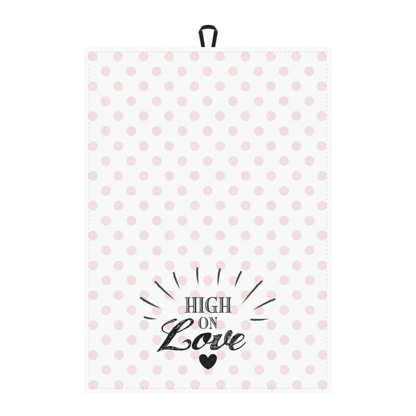 Zestaw 2 ścierek kuchennych Miss Étoile High on Love