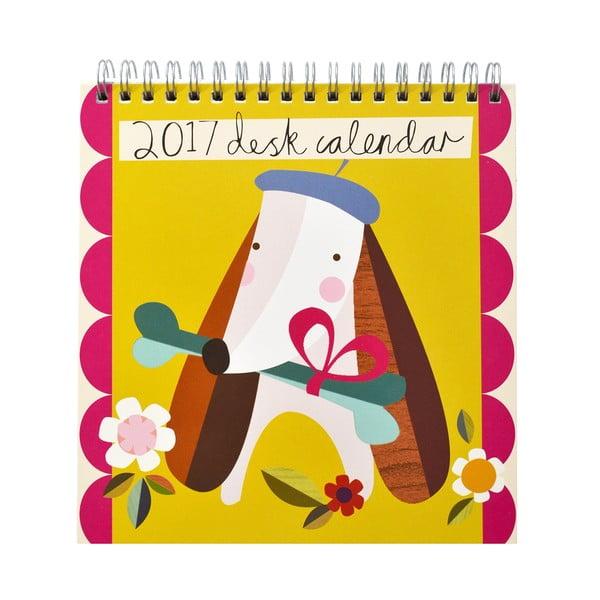 Kalendarz na stół Portico Designs Muchly Lovely
