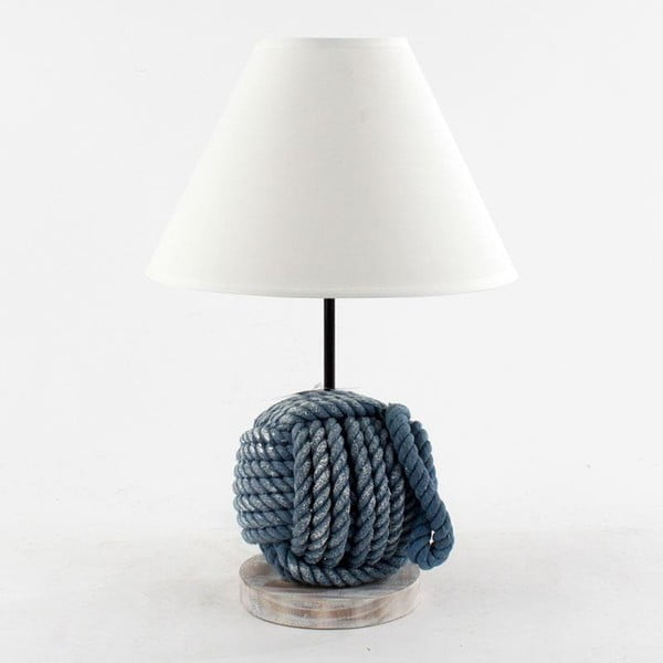 Lampa stołowa Port morski, 29x49 cm