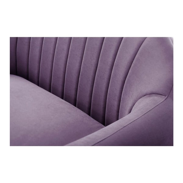 Sofa trzyosobowa Comete Stripes Purple