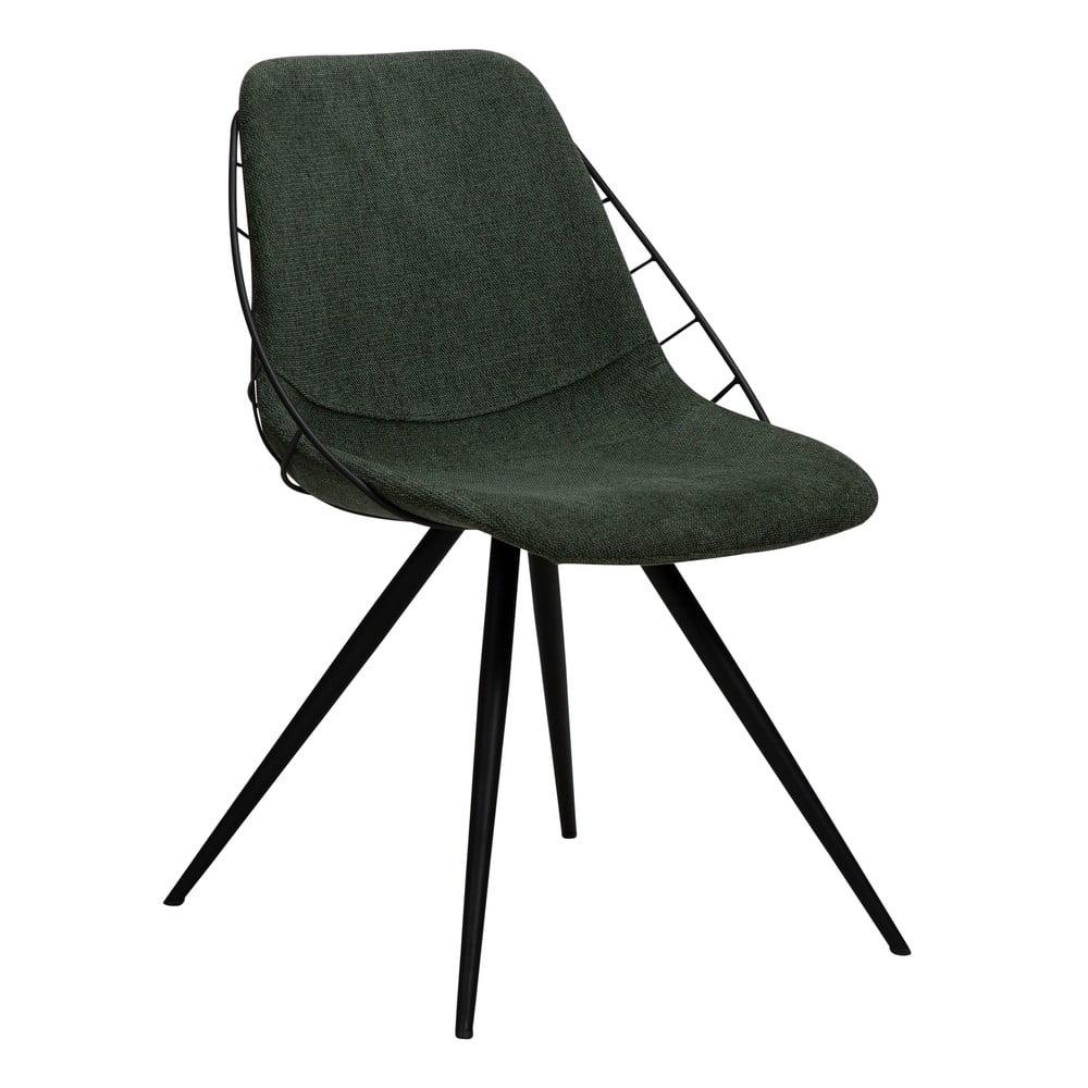 Zielone krzesło DAN-FORM Denmark Sway
