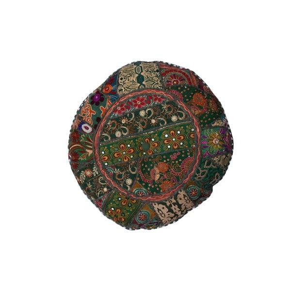 Ręcznie wyszywany puf Suelo, 55 cm
