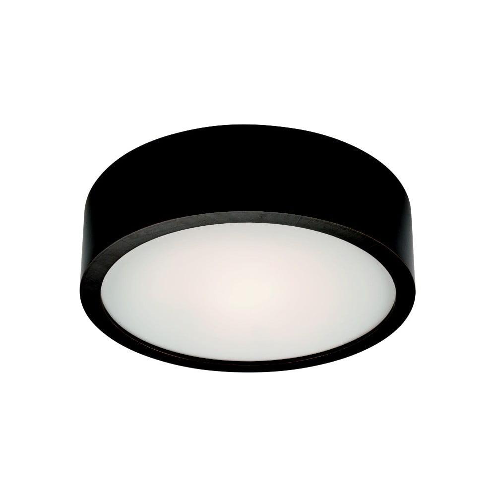 Czarna okrągła lampa sufitowa Lamkur Plafond, ø 27 cm
