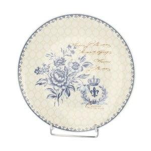 Talerz Blue Flowers, 20 cm