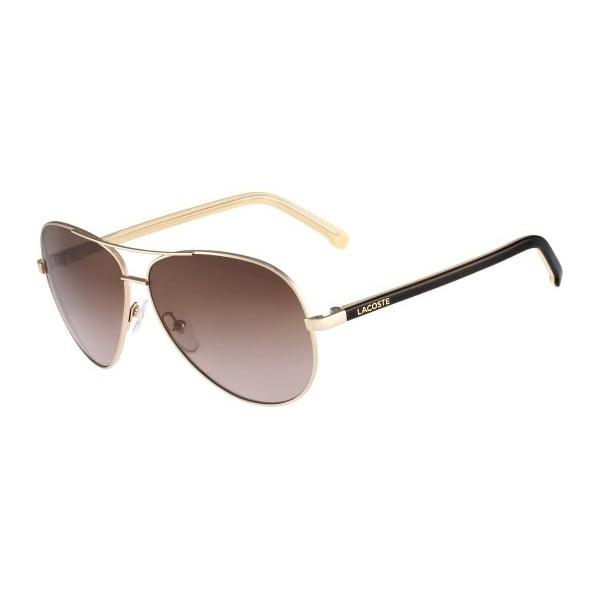 Damskie okulary przeciwsłoneczne Lacoste L155 Gold