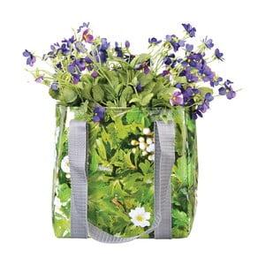 Zielona torba nieprzemakalna na kwiaty Esschert Design Margery