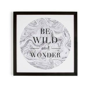 Obraz w ramie Graham & Brown Be Wild,50x50cm