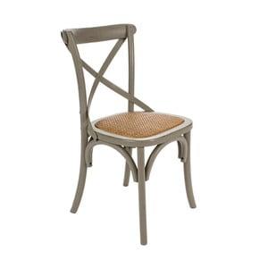 Krzesło Cross Grigio, 45x53x88 cm