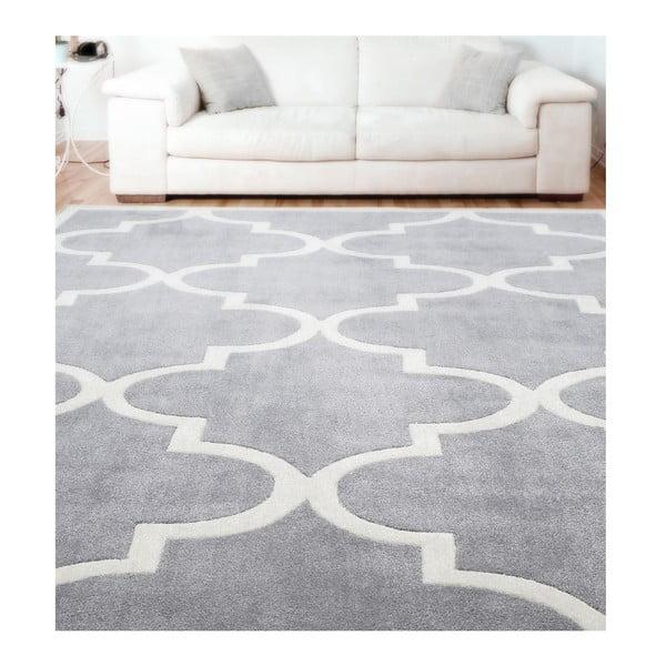 Dywan tuftowany ręcznie nuLOOM State Grey, 106x168 cm