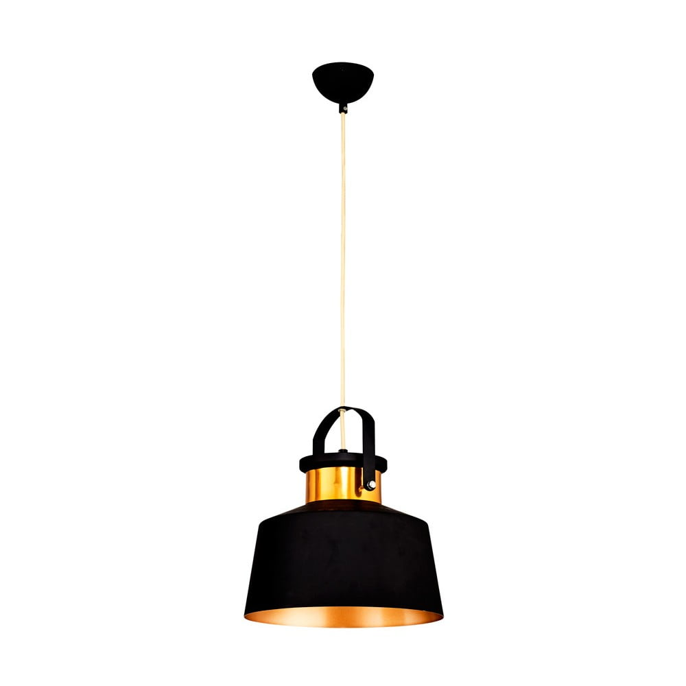 Czarna lampa wisząca Homemania Beno