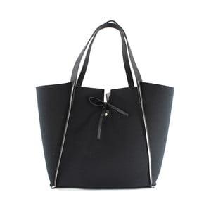 Neoprenowa torebka Fiertes, czarno-biała