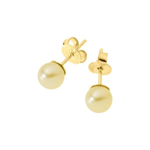 Kolczyki Pearls Round
