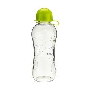 Butelka na wodę Apple 500 ml, przezroczysta