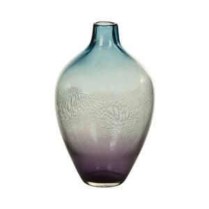 Niebieski wazon kryształowy Santiago Pons Ryde, Ø17cm