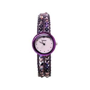 Zegarek z koralikami Classic, Purple Haze