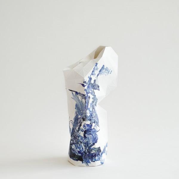 Papierowa waza Delft Blue Icons