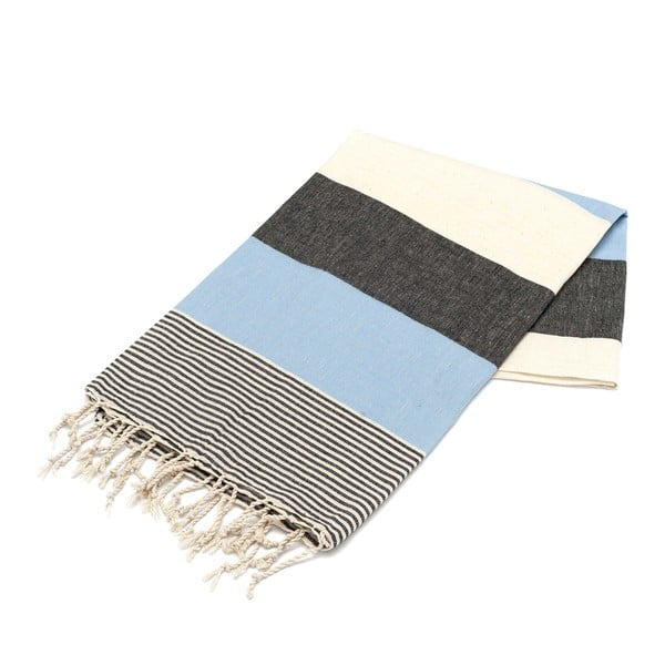 Ręcznik hammam American Fouta Light Blue, 100x180 cm