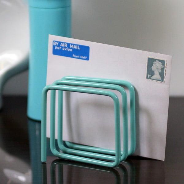 Niebieski stojak na listy Letter Rack