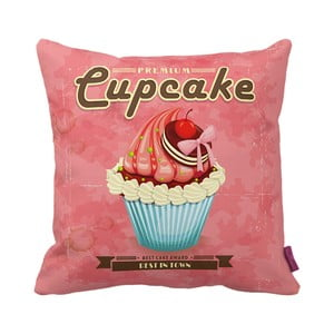 Poduszka Pink Cupcake, 43x43 cm